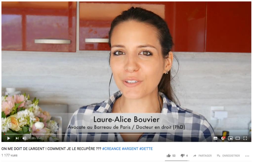 laure alice bouvier loralis paris youtube