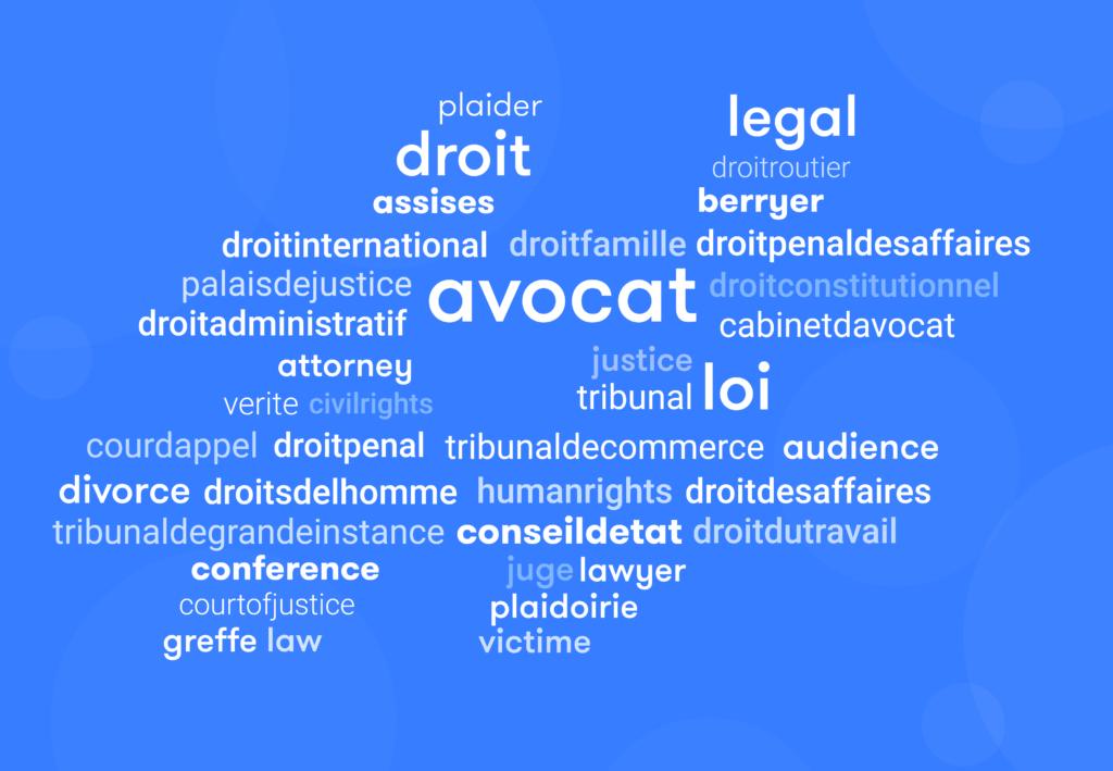 Les hashtags les plus populaires sur Instagram pour les avocats
