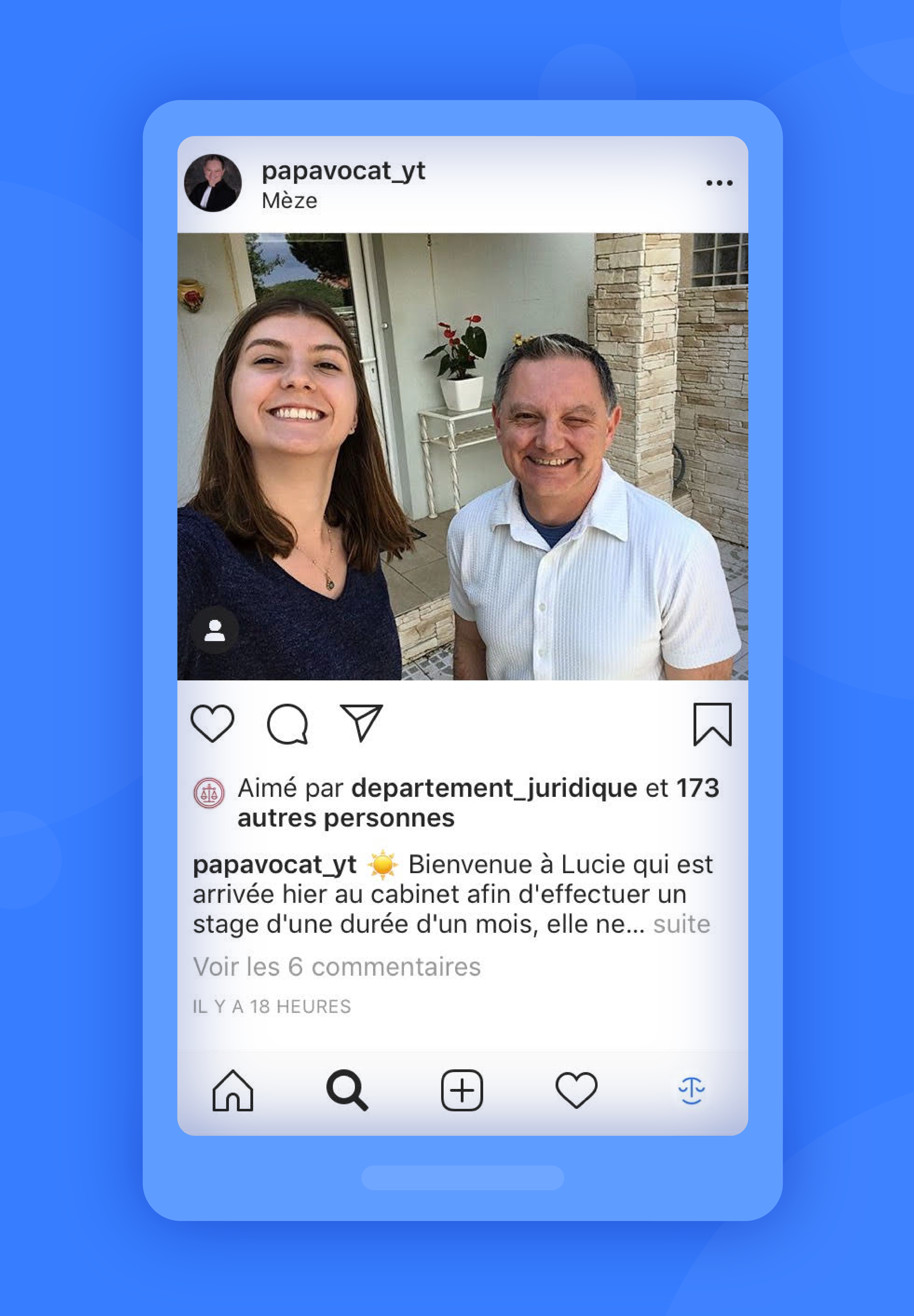 instagram exemple papavocat_yt