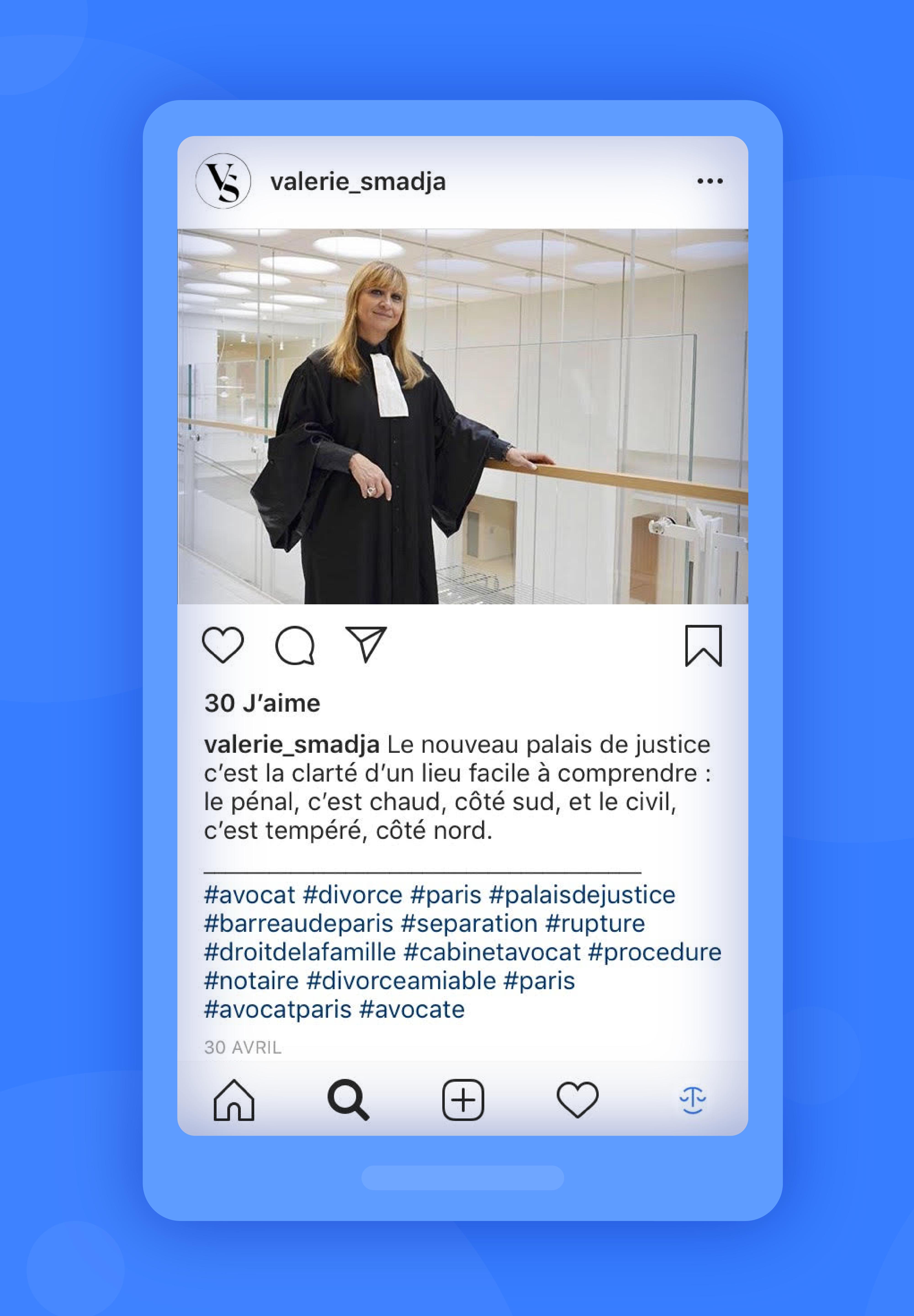 instagram exemple valerie smadja